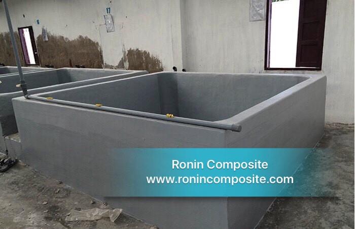 bọc composite bể nuôi thuỷ sản