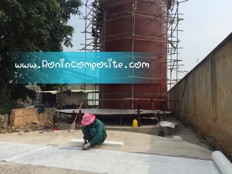 bồn composite chứa HCl